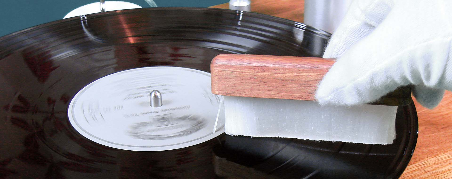 Mail order vinyl record cleaning service